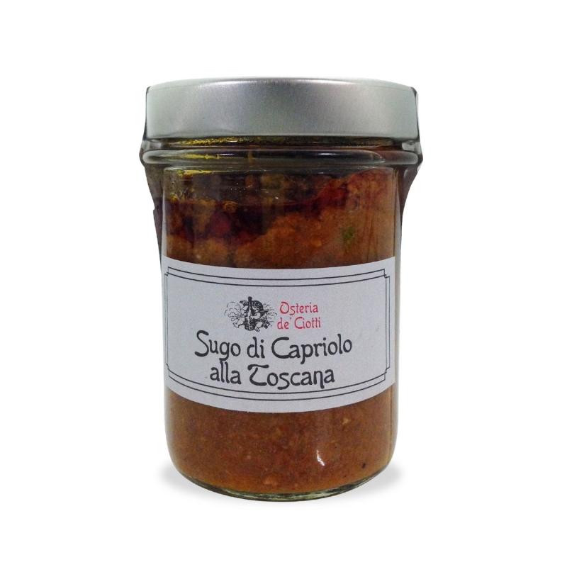Sugo di Capriolo alla Toscana, 200 gr. - Osteria de' Ciotti
