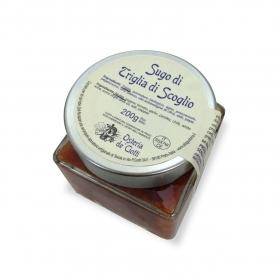 Sauce of mullet, 200 gr. - Osteria de 'Ciotti