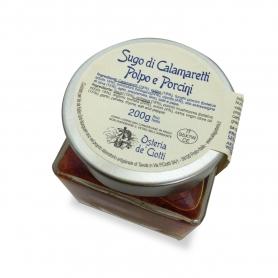 Sugo di Calamaretti, polpo e porcini, 200 gr. - Osteria de' Ciotti
