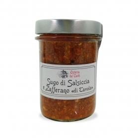 """Sugo di salsiccia e zafferano """"di Tavola"""", 200gr. - Osteria de' Ciotti"""