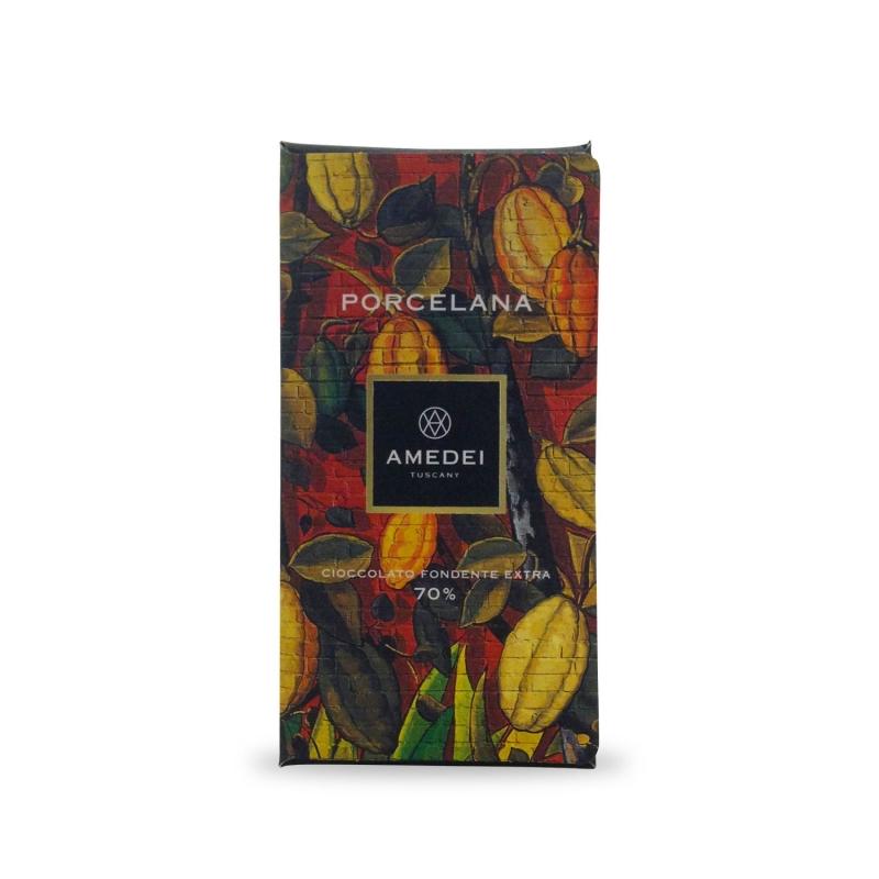 "Cioccolato Fondente ""Porcelana"" g.50 - Amedei"