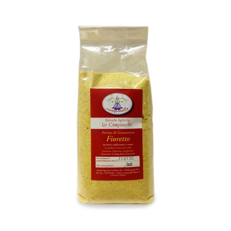 Polenta Fioretto - Farina di granoturco, 1 kg. - Az. Agr. Le campanelle