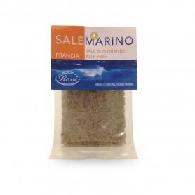 France - Fleur de sal Guerande with herbs, 80 g