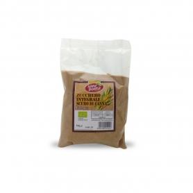 sucre de canne brun entier, 500 gr.