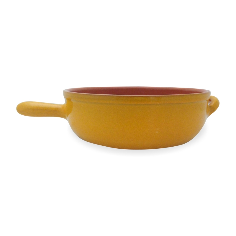 Piral Terracotta pots-frying pan with handle