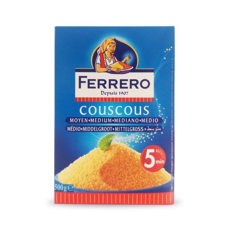 Kuskus Medium, 500 Gr-Ferrero