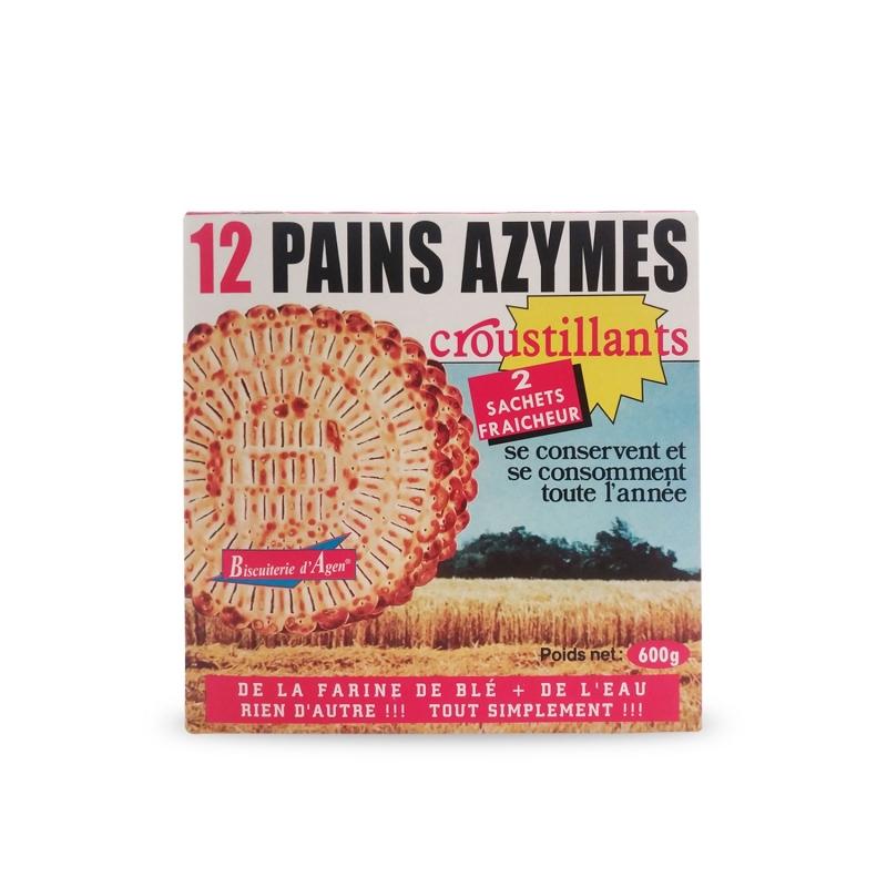 Pain sans levain, 600 gr-biscuit usine d'Agen