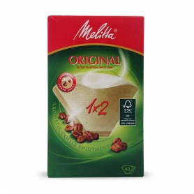 Filter for coffee machine 2 cups - Melitta