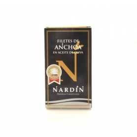 "Nardin - Anchovy fillets ""Seleccion"" with olive oil, 100 gr."