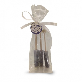 crystallized sugar sticks flavored with Violetta, conf. 3 pieces