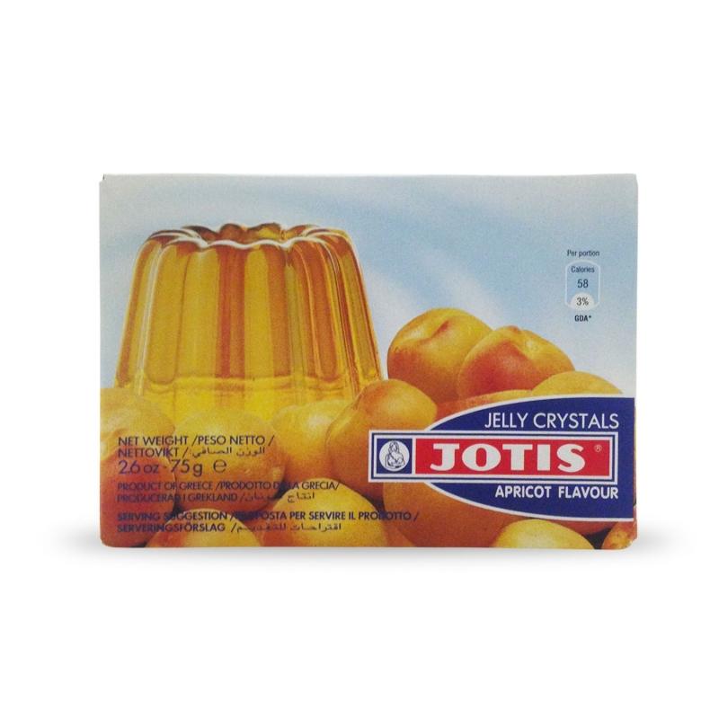 Budino in gelatina gusto Albicocca, 75 gr - Jelly Cristals