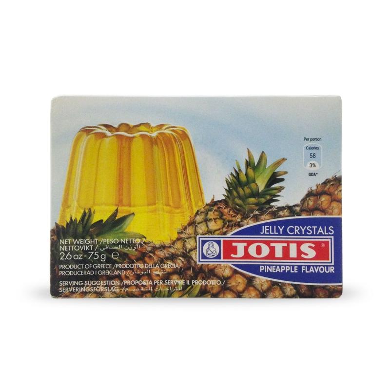 Budino in gelatina gusto Ananas, 75 gr - Jelly Cristals