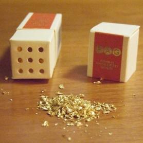 Oro alimentare 23 kt in pagliuzze, 100 mg