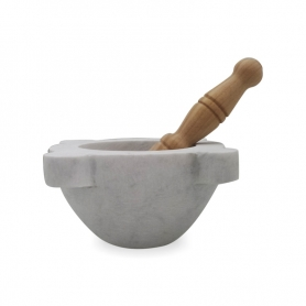 Mortier et pilon - 20 cm - Mortaio da Pesto