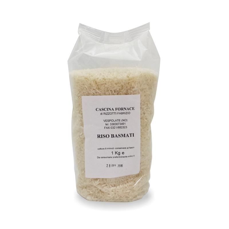 Basmati rice, 1 Kg - Cascina Fornace