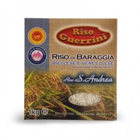 Riso S. Andrea DOP - Baraggia Rice, 1 kg - Rice Guerrini