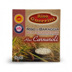 Carnaroli rice DOP - Baraggia Rice, 1 kg - Rice Guerrini
