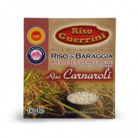 Riso Carnaroli DOP - Riso di Baraggia, 1 kg - Riso Guerrini