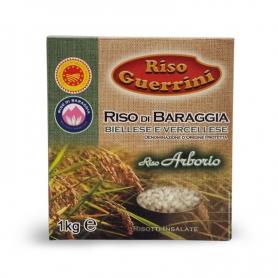 Arborio rice DOP - Baraggia Rice, 1 kg - Rice Guerrini