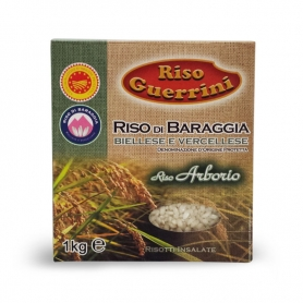 Arborio riz DOP - Baraggia riz, 1 kg - Riz Guerrini