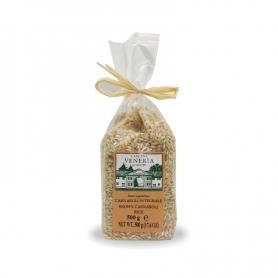 Weißer Reis braun Carnaroli, 500 gr - Veneria