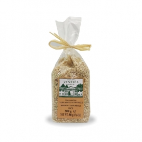 White rice brown Carnaroli, 500 gr - Veneria