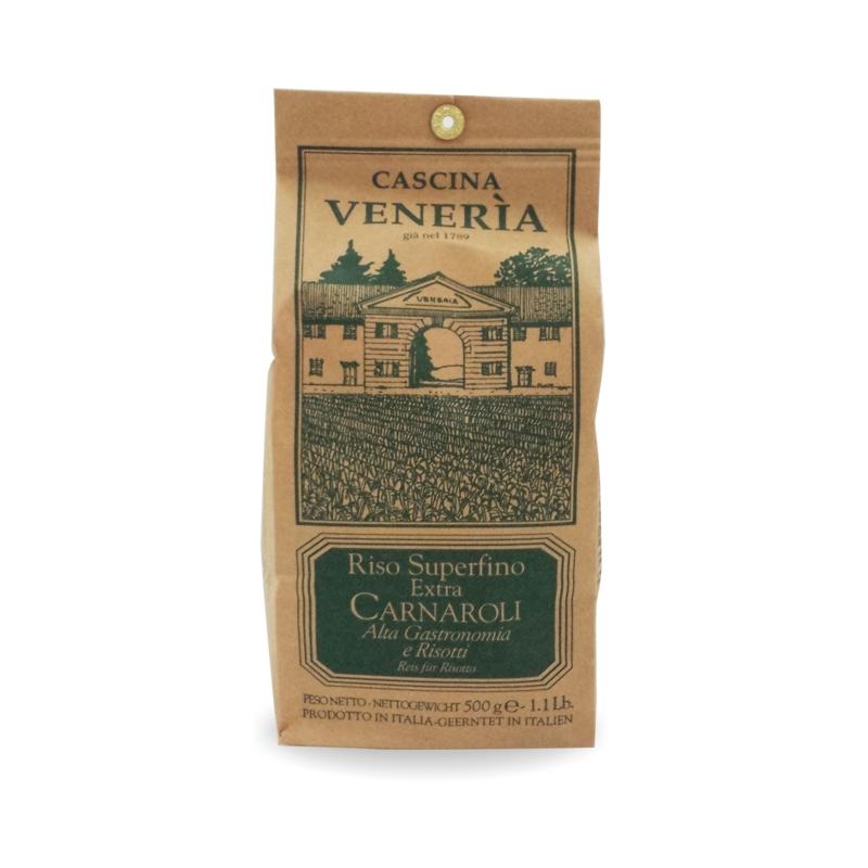 Riso bianco Carnaroli integrale, 500 gr - Cascina Veneria