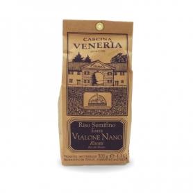 Riso semifino Extra Vialone Nano, 500 gr - Cascina Veneria