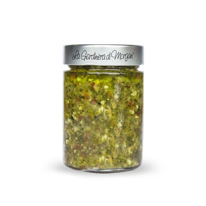 La salsa dell'Orto, 320 gr - La Giardiniera di Morgan