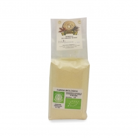Farina di semola di grano duro bio, 1 Kg - Mulino Sobrino - Farina di grano e cereali
