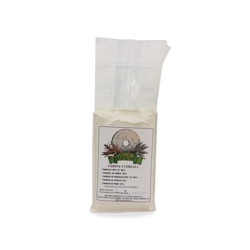 farine de seigle biologique complet, 1 kg - Mulino Sobrino