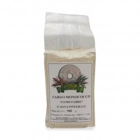Farina di farro monococco integrale bio, 900 gr - Mulino Sobrino