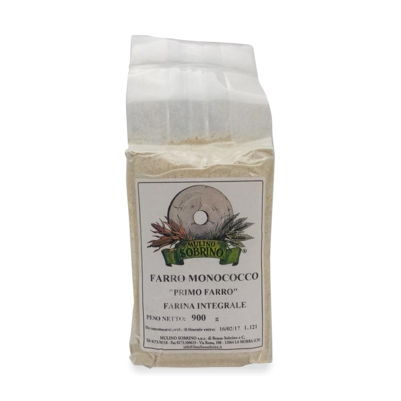 Einkorn flour bio 1 Kg - Mulino Sobrino