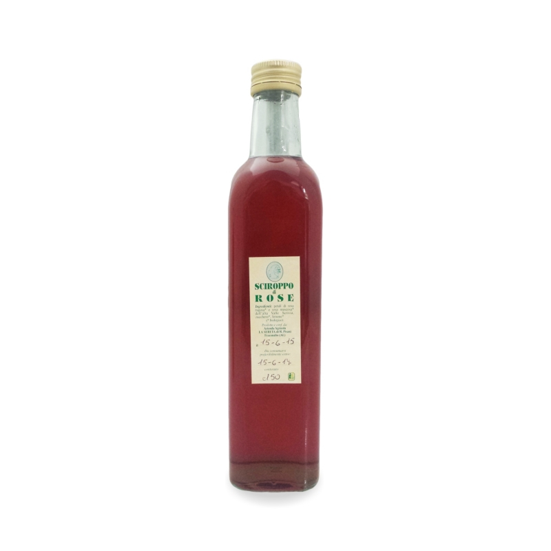 Sciroppo di rose, 250 ml