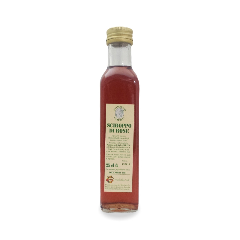 Sciroppo di rose, 250 ml