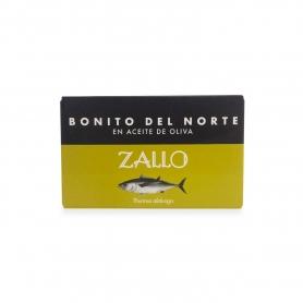 """Tonno """"Bonito del Norte"""" in olio di oliva, 112 gr - Zallo"""