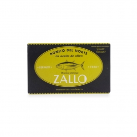 """Tuna """"Bonito del Norte» dans l'huile d'olive Seleccion Bermeo 1926, 112 gr - Zallo"""
