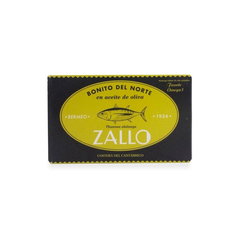 """Tuna """"Bonito del Norte» dans l'huile d'olive, 120 gr"""