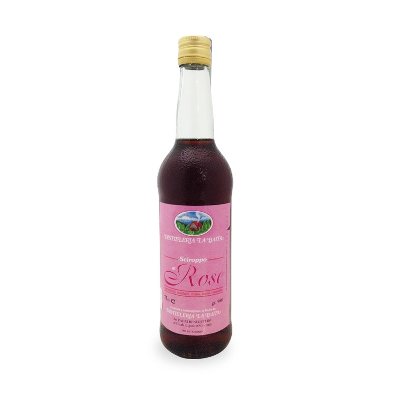 rose syrup gallica officinalis, 200 ml