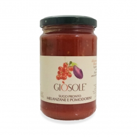 Eggplant and tomatoes, 280 gr - Masseria GiòSole