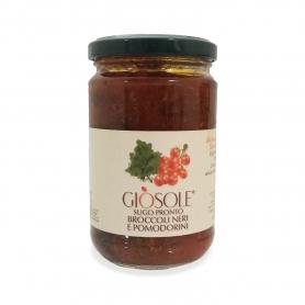 Broccoli neri e pomodorini, 280 gr - Masseria Giòsole