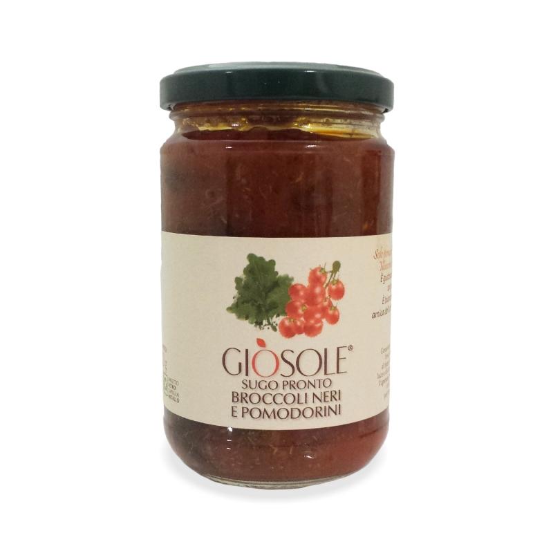noirs brocoli et tomates cerises, 280 gr - Masseria GiòSole