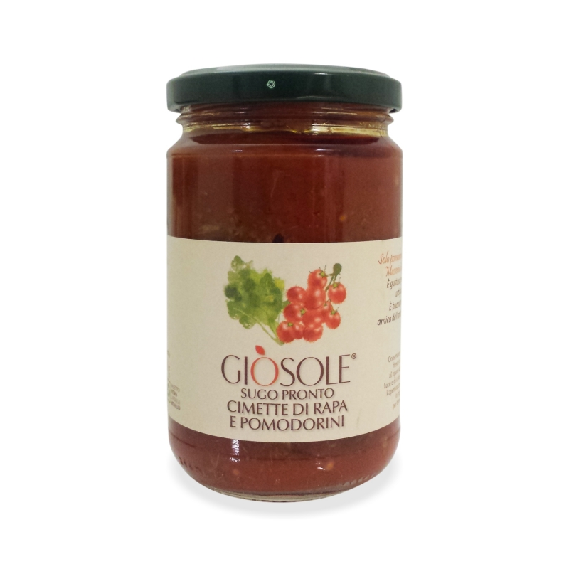 Fleurons de brocolis et tomates cerises, 280 gr - Masseria GiòSole