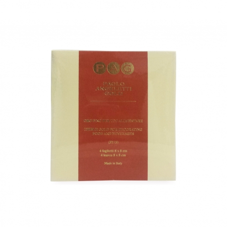 Culinary gold 23 kt in booklets, 4 sheets 80x80 mm