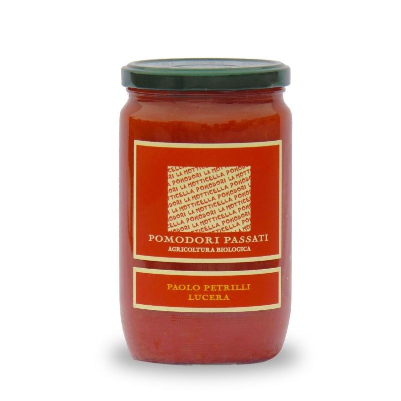pureed tomatoes - Paolo Petrilli, 720 ml