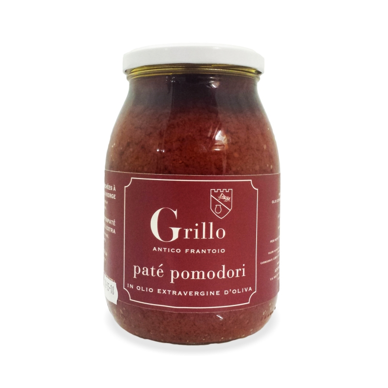 Patè di pomodori secchi, 1 kg. - Antico frantoio Grillo