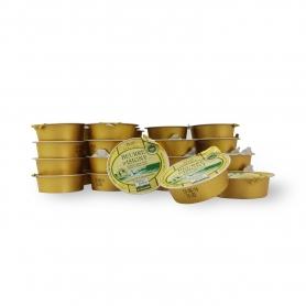 Burro salato monoporzione, 25 gr., Confezione da 48 pz -  Beurre d'Isigny