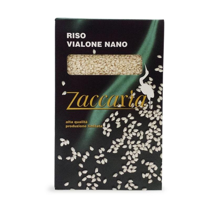 Riso Vialone Nano, 1 kg - Zaccaria