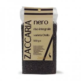 Riz noir intégral Othello, 500 gr. - Zaccaria