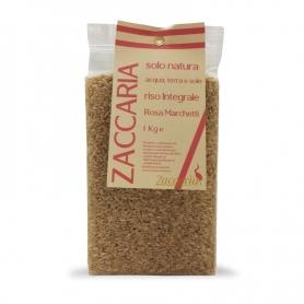 Riso integrale Rosa Marchetti, 1 kg - Zaccaria